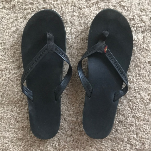 81ec79235d07 Black Swarovski Crystal Rainbow Sandals. M 5afa057e5521be8db4ebe39e. Other  Shoes you may like. Rainbow Flip Flops